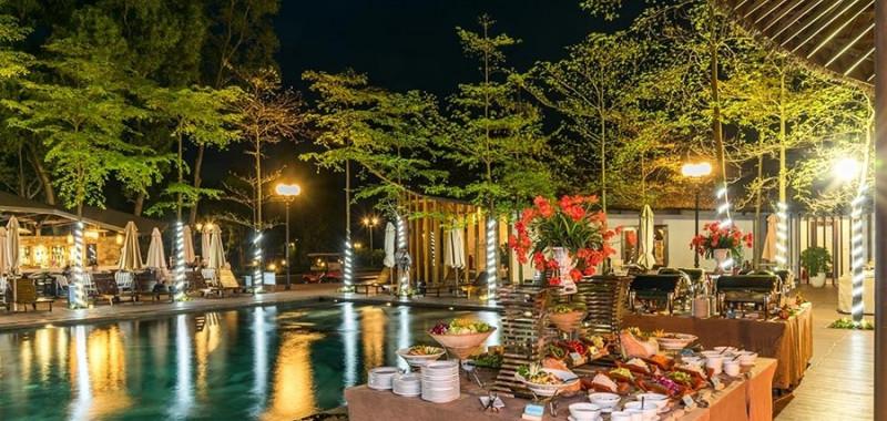 Nhà hàng Forest ở Khu nghỉ dưỡng Flamingo Đại Lải   Travelmart.vn